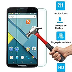 SNOOGG Pack Of 8 Moto G Plus, 4th Gen (Black, 32 GB) Full Body Tempered Glass Screen Protector [ Full Body Edge to Edge ] [ Anti Scratch ] [ 2.5D Round Edge] [HD View] - White