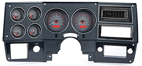 73-87 Chevy Truck VHX System, Carbon Fiber Face - Red Display (73 87 Chevy Truck compare prices)