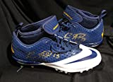 KEENAN ALLEN Hand SIGNED AUTOGRAPHED FOOTBALL NIKE Superbad Cleats Los Angeles CHARGERS w/COA