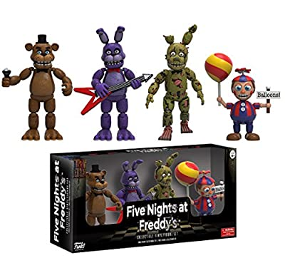 "Funko Five Nights at Freddy's 4 Figure Pack(2 Set), 2"" from Funko"