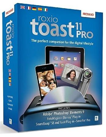 Toast 11 Titanium Pro, includes Adobe Photoshop Elements 9 (Mac)
