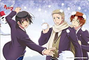 Hetalia The Beautiful World Big Mouse Pad snowball fight (japan import