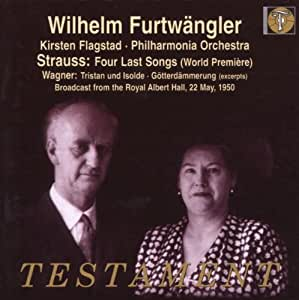 Strauss - Four Last Songs (World Première)