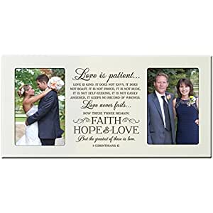 Amazon.com - Parent Wedding Gift, Wedding Photo Frame, wedding picture ...