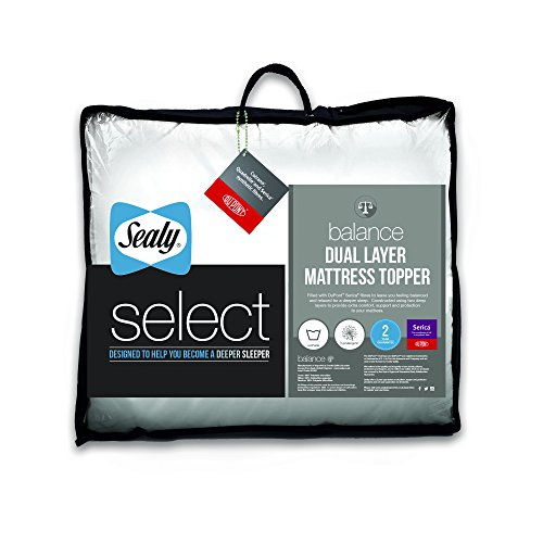 sealy-select-balance-surmatelas-double-couche-blanc-super-king-size