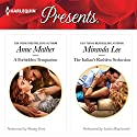 A Forbidden Temptation & The Italian's Ruthless Seduction Audiobook by Anne Mather, Miranda Lee Narrated by Morag Sims, Saskia Maarleveld