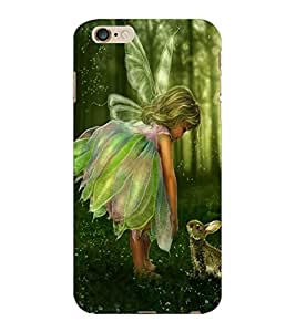 ColourCraft Baby Angel Design Back Case Cover for APPLE IPHONE 6S PLUS