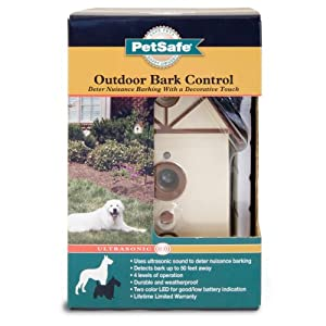 PetSafe Outdoor Ultrasonic Bark Deterrent