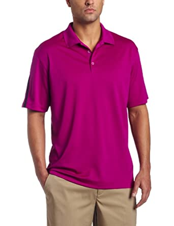 NIKE Men's Tech Colorblock Golf Polo Shirt, Red Plum, Small