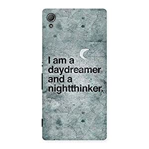 Stylish Knight Thinker Multicolor Back Case Cover for Xperia Z4