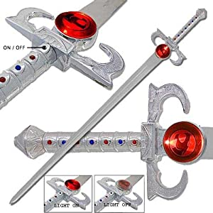 Thundercats Sword Omens on Deluxe Thundercats Lion O S Sword Of Omens Replica  Amazon Ca  Sports