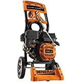 Generac 6596 2,800 PSI 2.5 GPM 196cc OHV Gas Powered Residential Pressure Washer