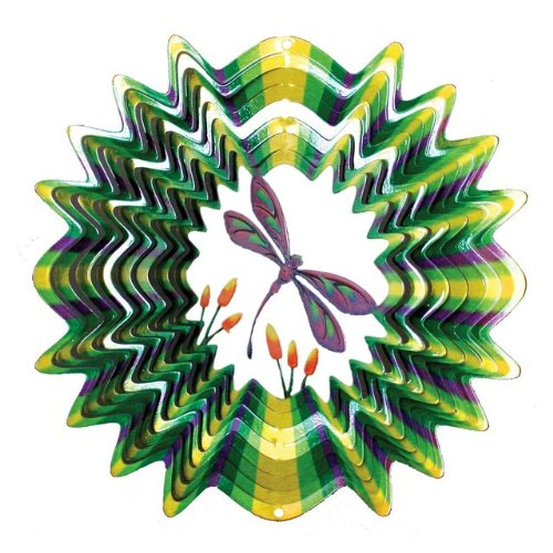 Iron Stop Dragonfly Wind Spinner  D17010