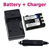 NB-2LH Battery+Charger For Canon Rebel XT XTi 350D 400D
