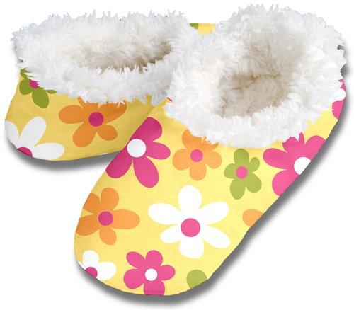 Cheap Snoozies NEW POP FLORAL No Skid Slipper Sock Footwear (100-324Y)