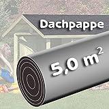 Bitumen-Dachpappe-5-m-schwarz-besandet-fr-Spielhaus-von-Gartenpirat