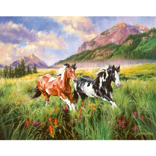 SunsOut - Carla D'Aguanno - Mountain Stroll - Mini Jigsaw Puzzle - 100 Pc