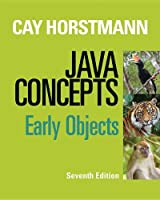 Java Concepts: Early Objects, 7th Edition Front Cover