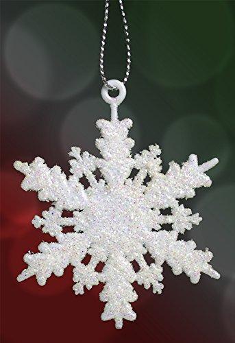 set of 96 mini snowflake christmas ornaments winter