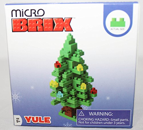 Micro Brix Loz Nanoblocks Christmas Tree Building Blocks Figure Set Holiday Series 2014