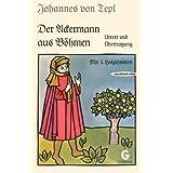 Der Ackermann aus Böhmen. Urtext und Übertragung. (Mit fünf Holzschnitten der Bamberger Frühdrucke.)