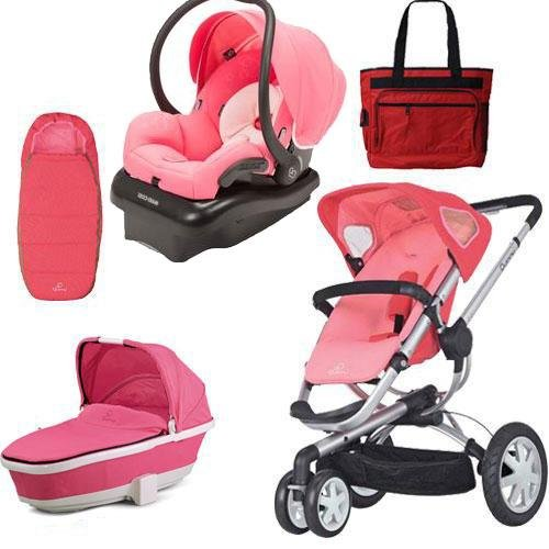 Quinny Cv155Bfx Buzz 3 Complete Collection - Pink Blush front-895537