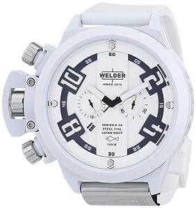 Welder K24 - Reloj unisex de caucho Resistente al agua multicolor