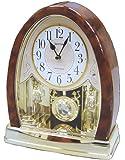 Joyful Crystal Bells Mantel Clock by Rhythm Clocks - 2010
