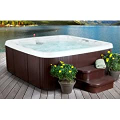 Lifesmart Rock Solid Grandmaster 7 Person Spa With 45 Jets by Lifesmart