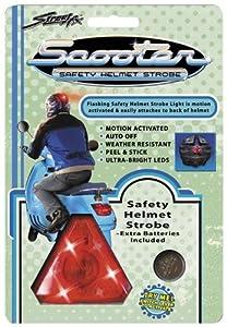 Street FX 1044081 Red Motorcycle Helmet Light by Street FX
