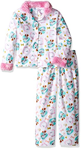 the-secret-life-of-pets-girls-little-girls-2-piece-pajama-coat-set-white-6