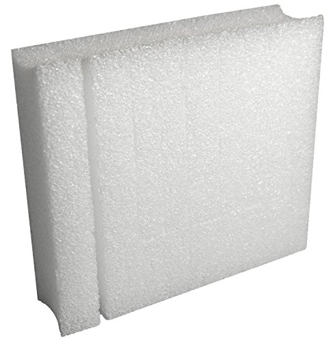 Ecobox Ublox 8 X 7 Inches Tear Off Sides Edge Protectors - Pack Of 12 (E-3070-12)