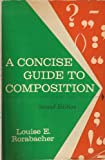 img - for A concise guide to composition book / textbook / text book