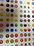 new nice 300pcs home button sticker for iphone4/4s/5 .ipad