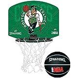 Spalding Mini panier de basketball au logo d'une équipe de la NBA