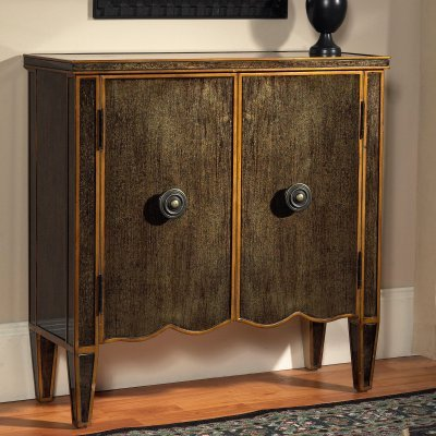 Pulaski Tiara Gold 2 Door Dresser Dresser Chest - 917067