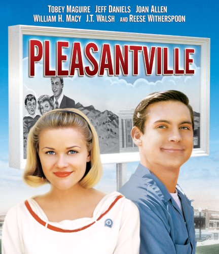 pleasantville film review Gary ross's great film pleasantville, a black-and-white and color motion  film  review, changing men, cinetext, contact ii, film international,.