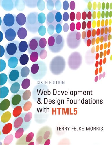 Web Development and Design Foundations  HTML5