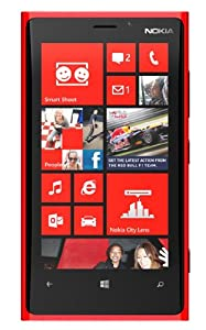 Nokia Lumia 920 32GB / 4G and EE Ready Sim Free UNLOCKED Windows Smartphone - RED