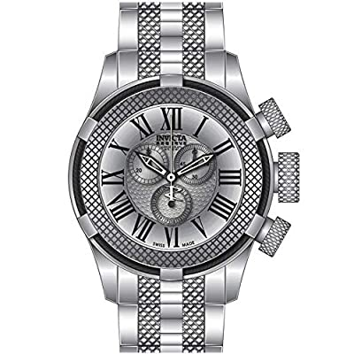 Invicta Men's 17160 Bolt Analog Display Swiss Quartz Silver Watch