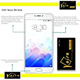 Kaira 2.5D Curve Ballistic Tempered Glass Screen Protector For Meizu M3 Note - Transparent