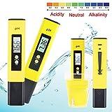 Digital pH Meter Messgerät , GOCHANGE pH Wert Wasser Messgerät pH Tester Meter Prüfer 0-14 für Aquarium Pool Schwimmbad, Pool, Landwirtschaft Aquarium Wein Urin usw.