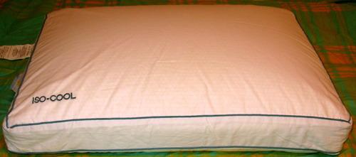 Amazon Com Sleep Better Iso Cool Memory Foam Pillow