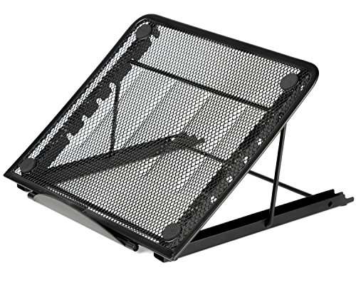 Why Choose Halter Mesh Ventilated Adjustable Laptop Stand for Laptop / Notebook / iPad / Tablet and ...