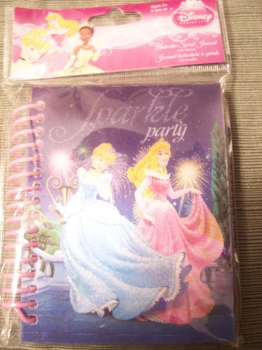 Disney Princess Lenticular Spiral Journal ~ Sparkle Party!