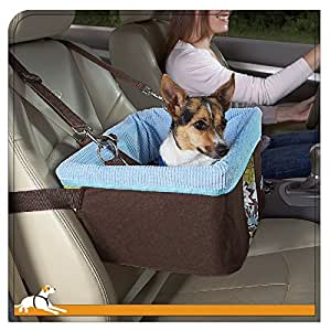 kurgo skybox dog booster seat retro bloom brown blue pet supplies. Black Bedroom Furniture Sets. Home Design Ideas