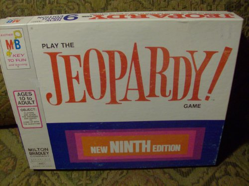 Vintage Jeopardy 9th Edition 1972 Edition - 1
