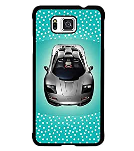 PrintDhaba Car D-4831 Back Case Cover for SAMSUNG GALAXY ALPHA (Multi-Coloured)