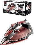 Eureka Razor Powerful Steam Burst Super Hot 1500 Watt Iron Marsala Pouch Included