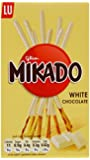 Mikado White Chocolate Biscuits 70 g (Pack of 6)